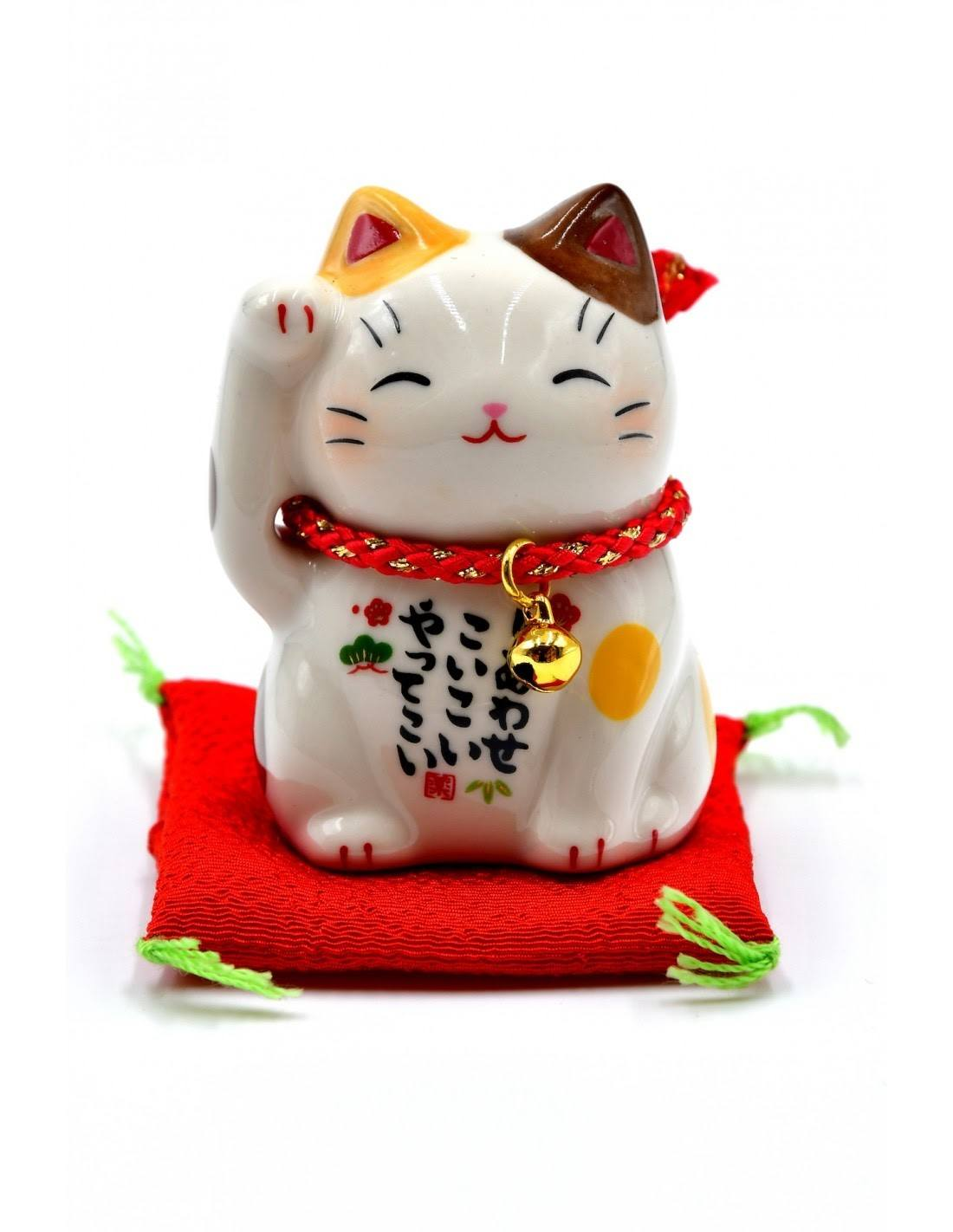 calico cat figurine